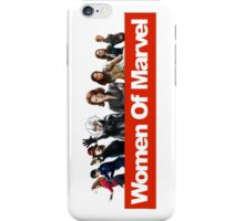 Women of Marvel iPhone Case/Skin