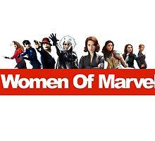 Women of Marvel by isilygoodart