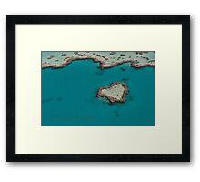 Heart Reef © Vicki Ferrari Framed Print