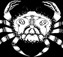 Cancer the Crab Black by dani-lafez