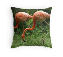 Synchronisation!! Throw Pillow