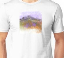 Landscape in Purple, Orange, and Greens Unisex T-Shirt