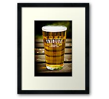Refreshments Framed Print