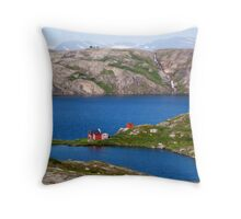 North Norway Throw Pillow