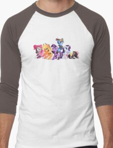Cutiemark Vault Hunters Men's Baseball ¾ T-Shirt
