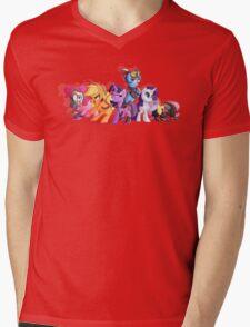 Cutiemark Vault Hunters Mens V-Neck T-Shirt