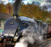 No 60007  Sir Nigel Gresley by Trevor Kersley