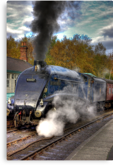 No 60007  Sir Nigel Gresley by Trevor Kersley