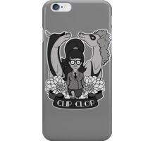 Clip Clop, Girl iPhone Case/Skin