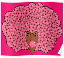 Bubble Gum Fly Poster