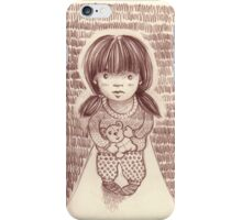 Teddy the Protector iPhone Case/Skin
