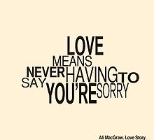 Love Story Quote by FinlayMcNevin