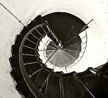 Key West Lighthouse Interior I by Ludwig Wagner
