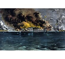 Attack On Fort Sumter Photographic Print