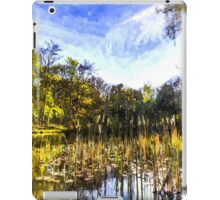 The Bulrush Pond Art iPad Case/Skin