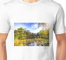 The Bulrush Pond Art Unisex T-Shirt