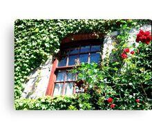 Irish Window Canvas Print