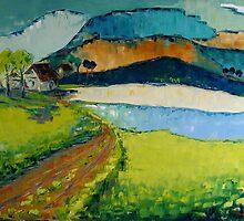 Blue Mountain by Claudia Hansen