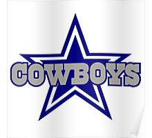dallas cowboys logo Poster