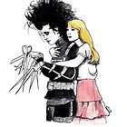 Edward Scissorhands by burntfeather