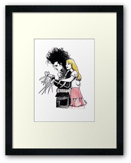 Edward Scissorhands by burntfeather
