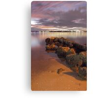 Swan River Rocks  Canvas Print