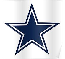 dallas cowboys logo 1 Poster