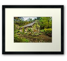 The Ugly House Framed Print