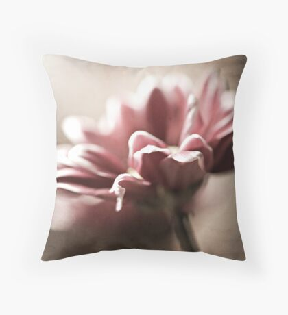 Glowing Beauty Throw Pillow