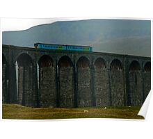 High on Ribblehead Viaduct Poster