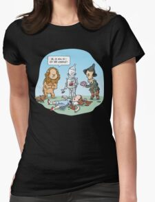 Wizard of Oz, The Short Version Womens Fitted T-Shirt