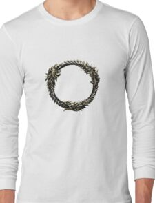 The Elder Scrolls: Online logo Long Sleeve T-Shirt
