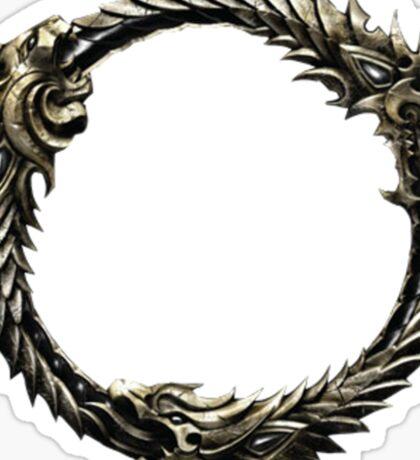 The Elder Scrolls: Online logo Sticker