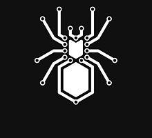 Cyber Spider White Unisex T-Shirt