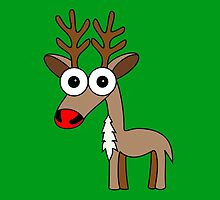 Rudolph (the red nosed reindeer) by Inkerbelle