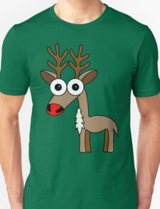Rudolph (the red nosed reindeer) Unisex T-Shirt