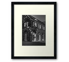 Light & Shadow Framed Print
