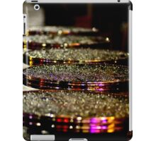 Parisian cafe at night iPad Case/Skin