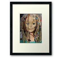 barbie the beautiful Framed Print