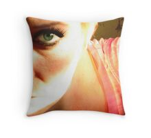 Velvet Morning Throw Pillow