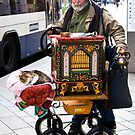 Swiss organ grinder & friend by Alexander Meysztowicz-Howen