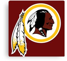 washington redskins logo Canvas Print