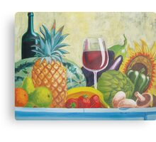 Fruits & Vegetables Metal Print