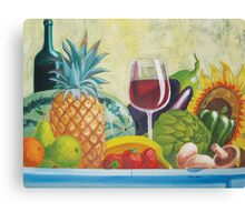 Fruits & Vegetables Canvas Print