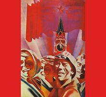 Labour communist propaganda in soviet union cccp sssr Unisex T-Shirt