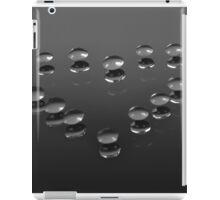 Drops on a mirror iPad Case/Skin