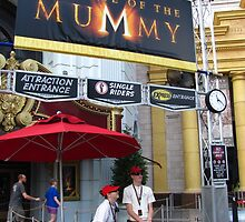 Revenge of the Mummy, Universal Studios Florida by coasterfan94