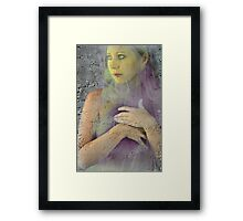 Thinly Veiled Framed Print
