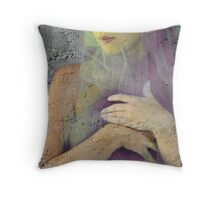 Thinly Veiled Throw Pillow