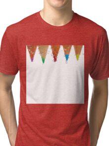 Bubbles and colour Tri-blend T-Shirt